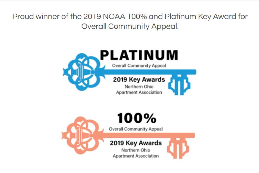 Northern Ohio Apartment Association Award